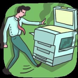 Утилизация офисной техники