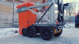 Робот-уборщик от Volvo и Renova