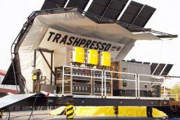 Trashpresso: архитектурная плитка из отходов